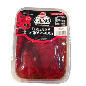 Imagen de Pimientos rojos asados enteros Cano
