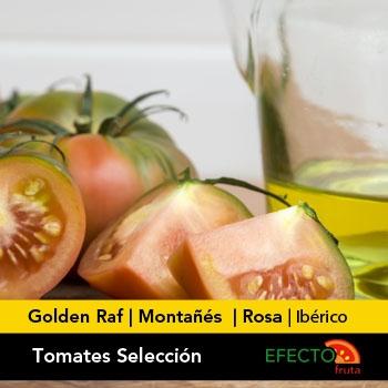 Imagen de la categoría Tomates Selección.Golden Raf, Montañés, Rosa e Ibérico.