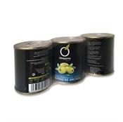 Imagen de Aceitunas manzanilla rellenas anchoa sin hueso Olispania pack 3 – 120gr