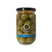 Imagen de Aceitunas verdes manzanilla con hueso sabor anchoa Olispania 314ml