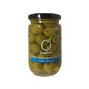 Imagen de Aceitunas verdes manzanilla sabor anchoa sin hueso Olispania 314ml