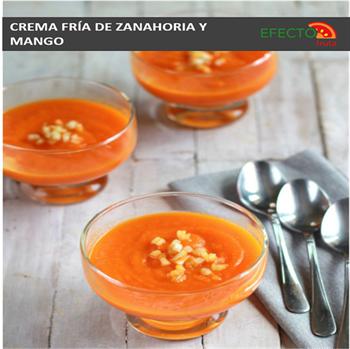Imagen de la categoría Crema fría de zanahoria y mango