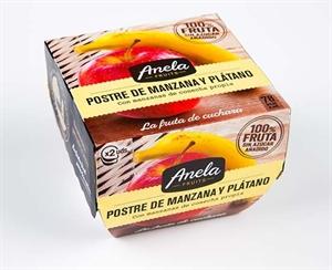 """Imagen de Postre de Fruta """"Manzana y Plátano"""""""